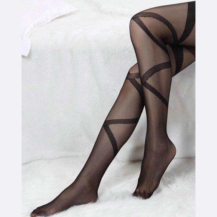 1 pcs Mulheres Meninas Sexy Lace Top Permanecem Acima Da Coxa listras Altas Meias Calças Justas cor Preta calcetines largos mujer em Meias de Das mulheres Roupas & Acessórios no AliExpress.com | Alibaba Group