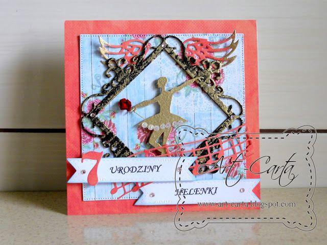 Art-Carta : Dla miłośniczki tańca...