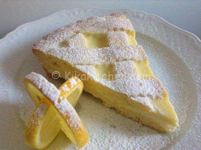 Ricetta crostata al limone con procedimento fotografato passo passo. La crostata al limone è adatta ad ogni stagione