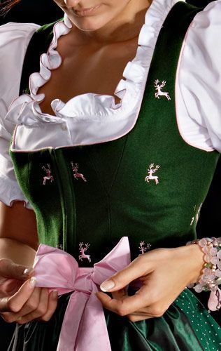 Dirndl - traditional Oktoberfest German women outfit