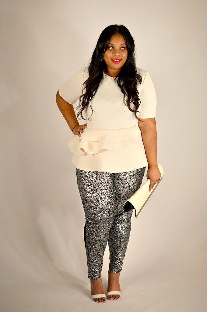 Supersize My Fashion   A Plus Size Fashion Blog Sequin is the new black!