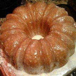 Lemon-Buttermilk Pound Cake with Aunt Evelyn's Lemon Glaze Photos - All Recipes.com