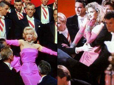 Marilyn Monroe - madonna copy
