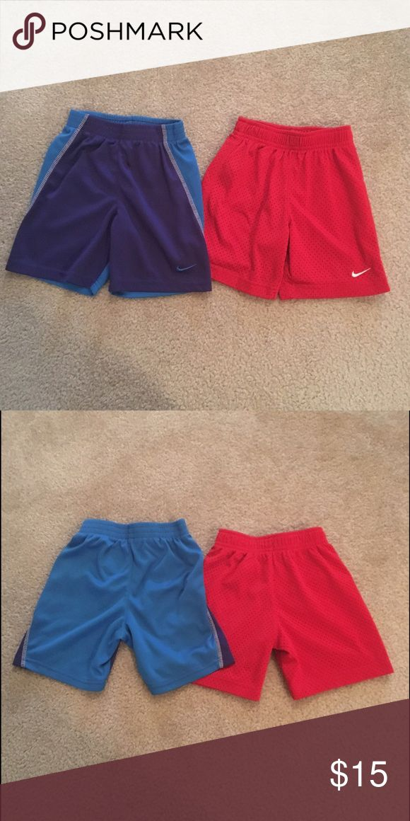 3T Boys Nike Shorts Lot Toddler Boys Nike Shorts Lot Size 3T Excellent Condition Nike Bottoms Shorts