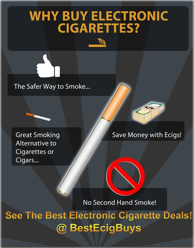 Electronic Cigarette Deals: These are some of the best eCigs on the market today. With low priced options in ecigarette kits, eliquids, and more.