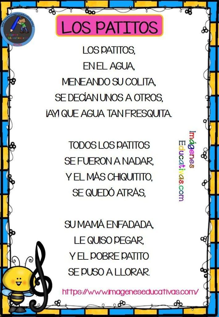 Canciones Con Pictogramas Para Educación Infantil Y Preescolar 2018 Letras De Canciones Infantiles Canciones Preescolar Educacion Infantil