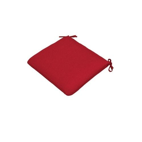 Casual Cushion 308-1427 Large Seat Cushion Pad, Red (Polyester), Outdoor Cushion