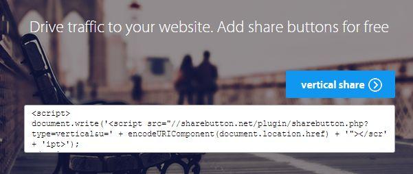 Share Button: rien de plus simple que d'ajouter les boutons des réseaux sociaux sur son blogue