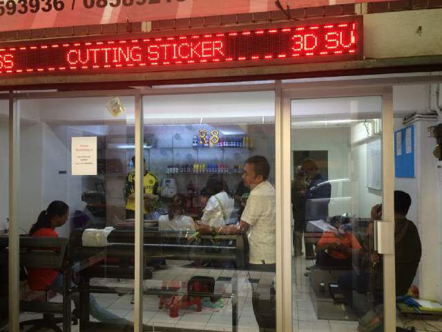 Supplier mesin cutting sticker original di jakarta bengkel print indonesia
