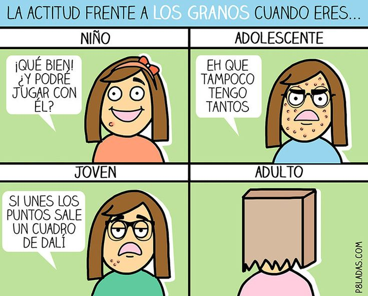 Síntomas de madurez #P8ladas #humor