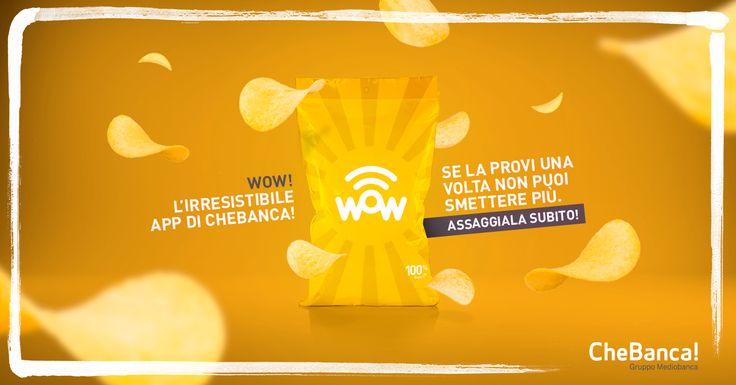 WoW, l'irresistibile app di CheBanca!, disponibile per tutti #app #wow #adv