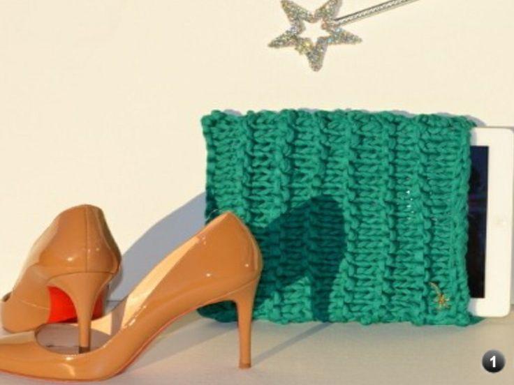 iPad case #knitting