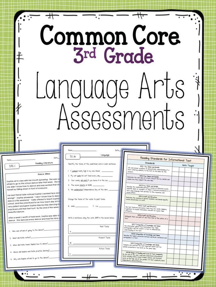 Third Grade Language Arts Assessments Core & Not