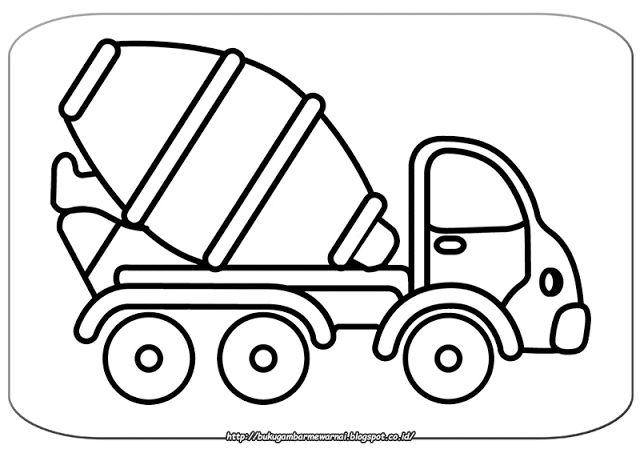 Gambar Mewarnai Mobil Molen - Gambar di atas adalah gambar mewarnai mobil molen. Dalam dunia kos...
