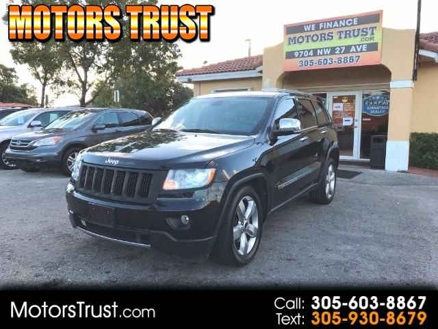 2011 Jeep Grand Cherokee Limited 2wd Black Suv 4 Doors