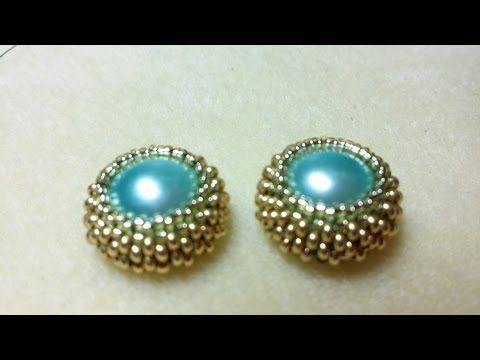 DIY - tutorial principianti - Collana tipo Chanel con perle di granato e catenella oro - YouTube