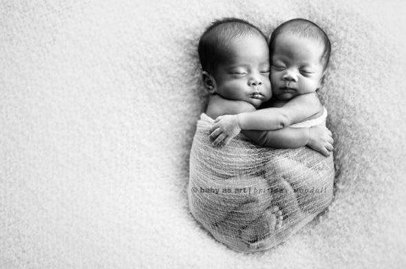 Sweet baby twins