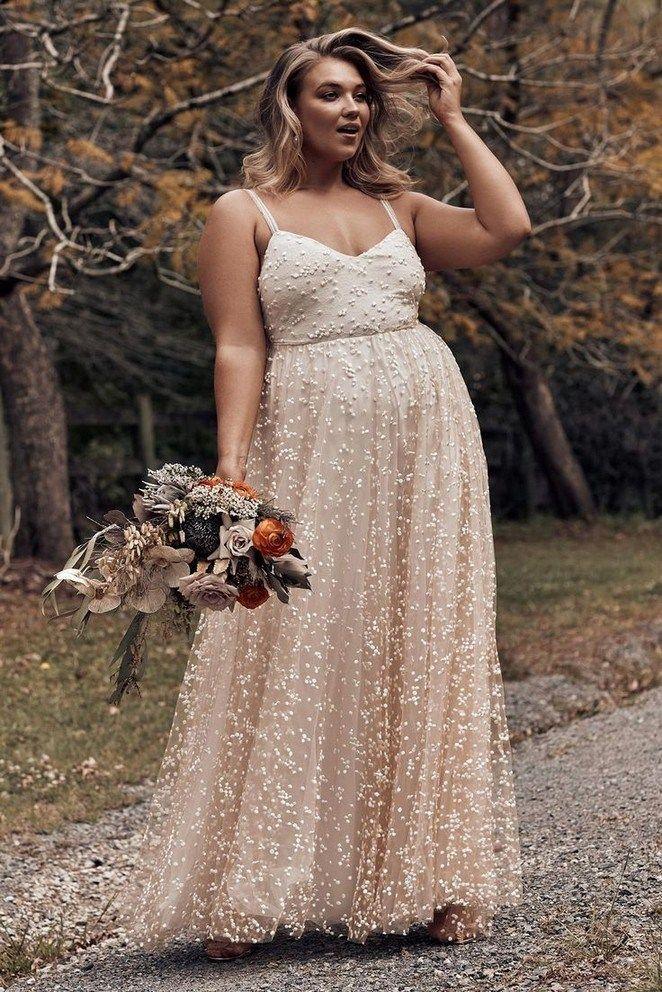 17+ Plus size blush wedding dress ideas information