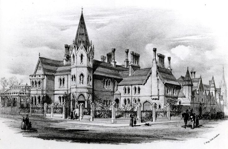 Exterior - corner of Campden Hill Road and Phillimore Walk. Just yards from Kensington High Street. The Abbey built 1879 by William Abbott