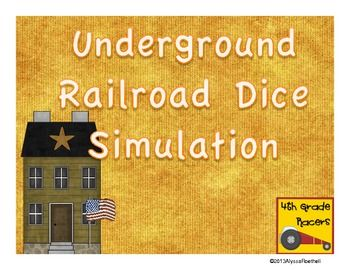 Underground Railroad Dice Simulation