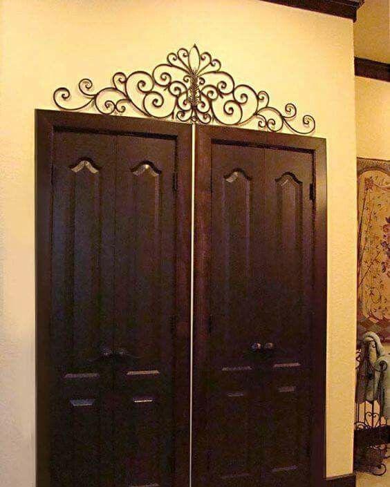 Decorative Metal Front Door Hangings