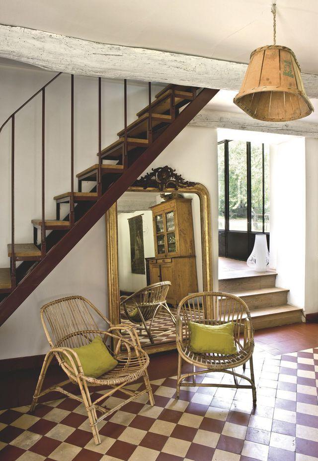 17 meilleures id es propos de miroir en rotin sur for Decoration maison facebook
