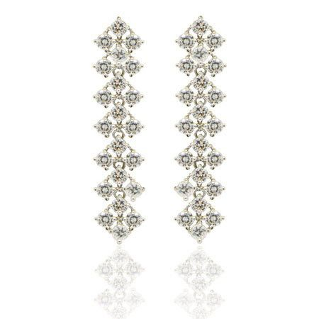 'Maeve' Drop Earring – Roman & French Wedding accessories, bridal jewellery, wedding earrings, bridal earrings, wedding accessories, bridesmaids jewellery, bridesmaids earrings, bridesmaids gifts, pearl bridal jewellery, formal jewellery, bridal accessories, are a great