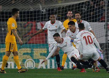 El Sevilla funde al Atlético