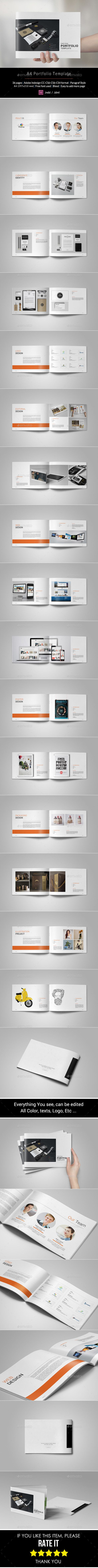 Portfolio Brochure Template (CS4, 11x8.2, 297x210, a4, branding, brochure, catalogs, catalogue, clean, corporate, creative, customizable, design, design portfolio, designer project, editable logo, elegant, illustration, interior, interior design, minimal, minimalistic, modern, modern catalogue, packaging template, photography template, portfolio template, print ready, product, simple, template)