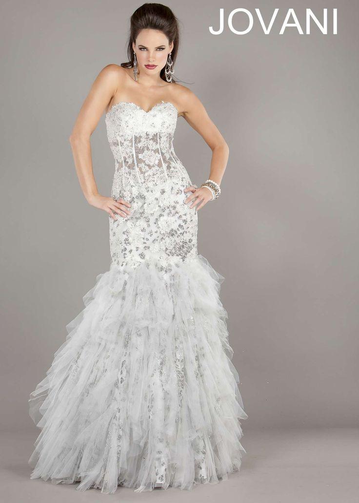 Jovani 1531 mermaid prom dress wedding dress wedding for Jovani mermaid wedding dresses