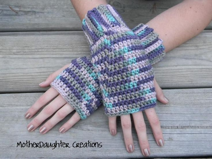 175 Best Crocheted Gloves Wrist Warmers Images On Pinterest