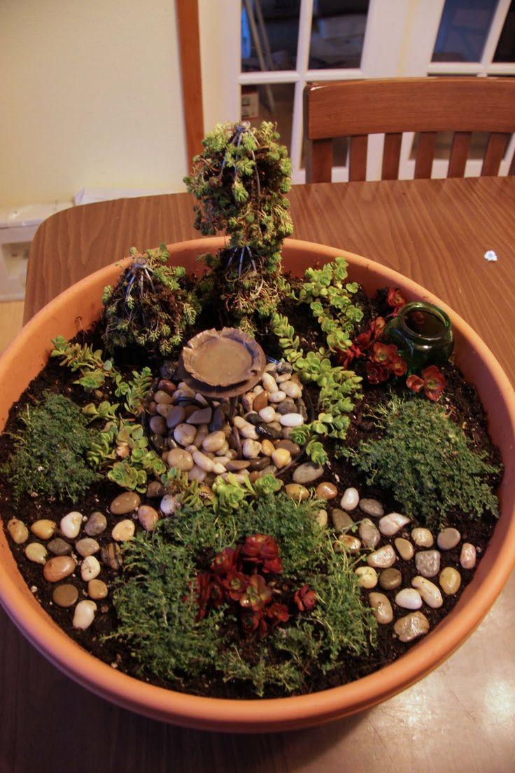 48 best Miniature Fairy Gardens images on Pinterest | Miniature ...