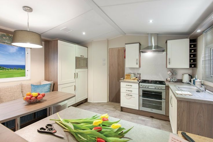 2013 Willerby Cameo Ns14 Kitchen Integrated 70 30 Fridge