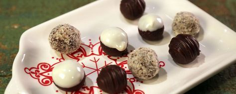Carla Hall's Chocolate Truffles Recipe | The Chew - ABC.com