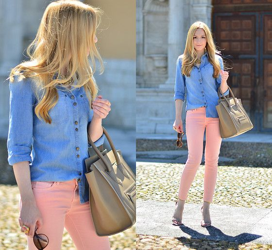 Mango Shirt, Zara Pants