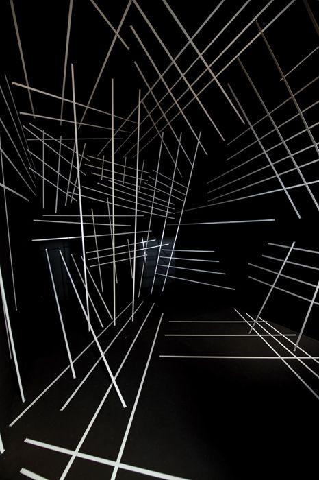 Black & White by Esther Stocker - Modernica Blog