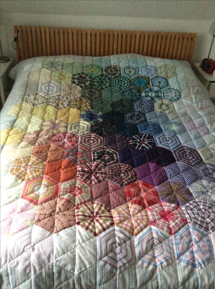 Quilt made with inspiration from Pinterest