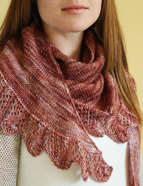 Ravelry: Linden Street Shawl pattern by Amy Loberg (FiberWild!)