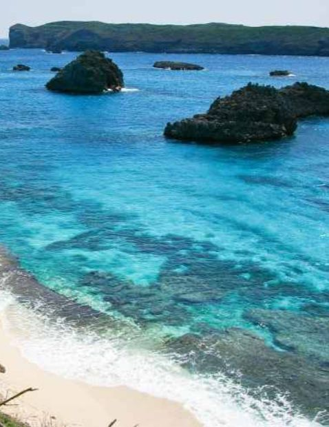 """BONIN ISLANDS, Japan- are an archipelago of over 30 subtropical and tropical islands, some 1,000 kilometres south of Tokyo. The Tokugawa Shogunate dispatched an expedition in 1675 & made a map of one island. The Japanese word bunin means """"no people"""" or """"uninhabited"""". Even today there are only 2 inhabited islands in the group. Because the islands have never been connected to a continent, many of their animals & plants have undergone unique evolutionary processes."""