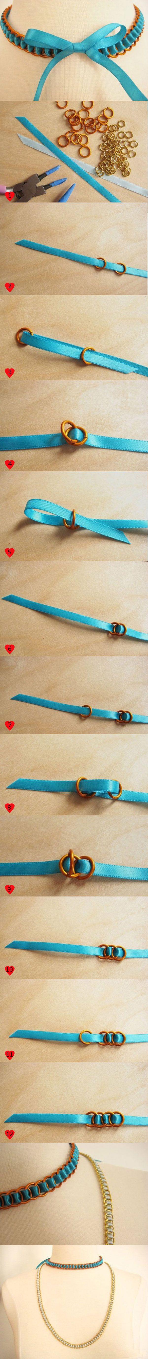 accesorii handmade Colier handmade   Tutorial