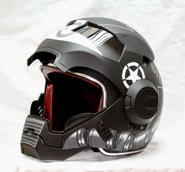 Luusama Motorcycle And Helmet Blog News: Masei 610 Darth Vader Looking Stormtrooper Motorcycle DOT Arai Harley Davidson Helmet