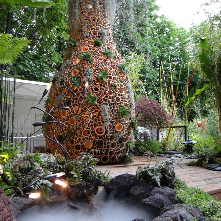 Baobab Garden lighting