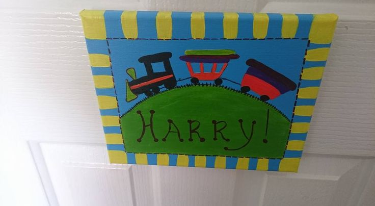 Sign for Harry's Room