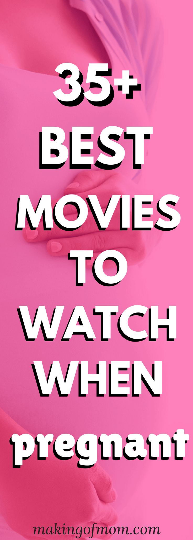 Can't sleep? Suffering from pregnancy insomnia? Or just heartburn or general discomfort? Here are 35 pregnancy movies to watch when you're pregnant. Some are hilarious, some are informative, but they're guaranteed to keep you occupied! Have you seen them all?