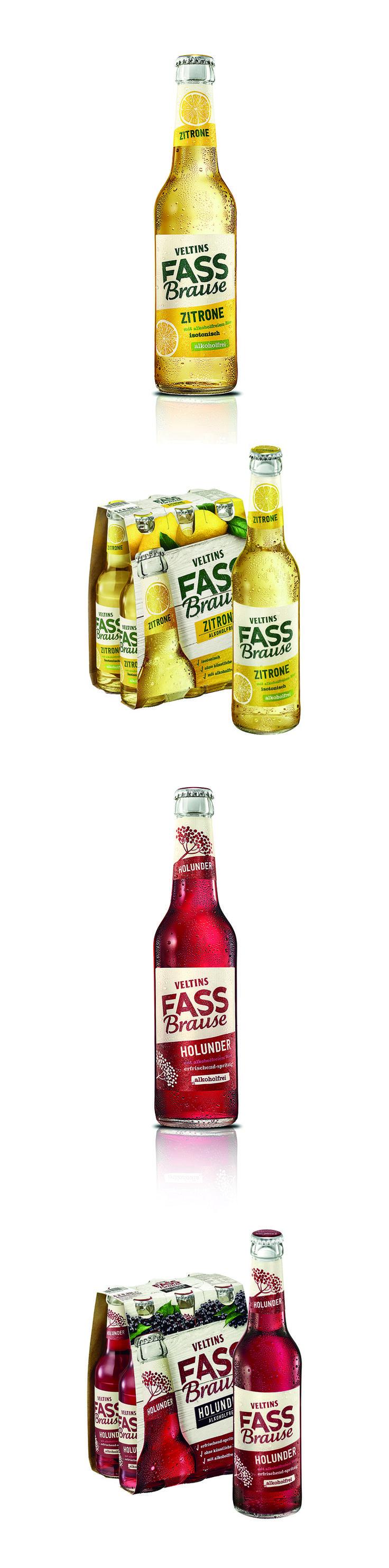 Packaging Design for Veltins Fassbrause by Higgins Design.  #packagingdesign #design #veltins #fassbrause #higginsdesign