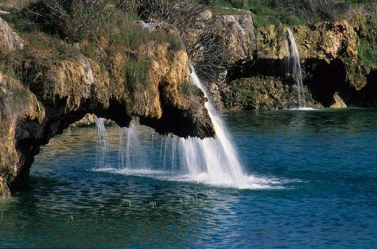 Lagunas de Ruidera. Albacete. Spain