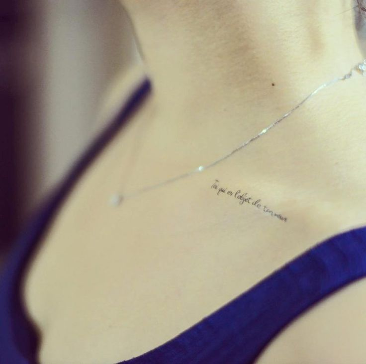 30 Inspiring Quote Tattoos For Girls On Collar Bone: Best 25+ Collar Bone Tattoos Ideas On Pinterest