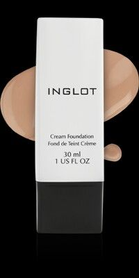 Inglot CREAM FOUNDATION ( отлично сглаживает текстурность кожи (прыщики, шелушение и т.п.)