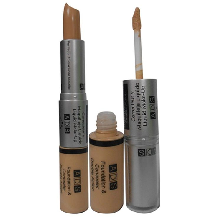 ADS+Foundation+&Stick+Concealer+Begie+-ADS-A8553B-Fndtn&Cnslr+Price+₹308.00