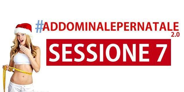 Addominale per Natale - Sessione 7